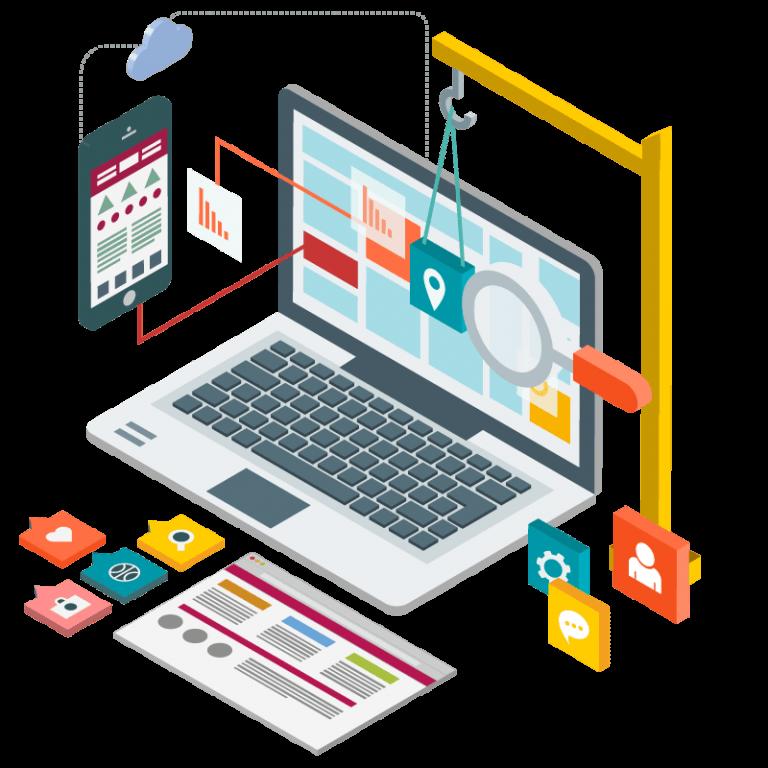 Criação de Sites e Lojas virtuais Responsivas