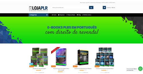 Criação de Lojas Virtuais IWD - LojaPLR