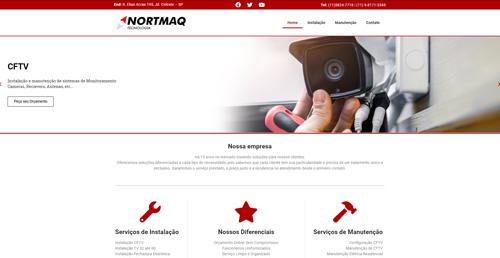 Criação de Sites de Prestação de Serviços IWD - Nortmaq Tecnologia