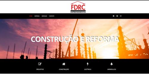 Criação de Sites Empresariais IWD - FDRC Empreendimentos