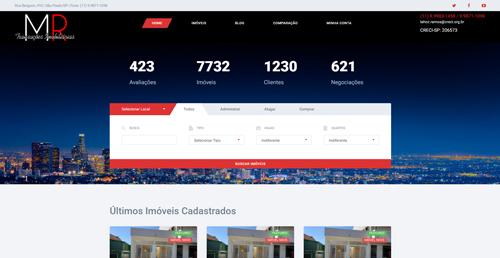 Criação de Sites imobiliárias IWD - MRTimoveis